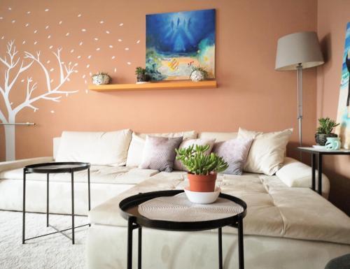 Posezení v ubytování Brunetti Design Zlín