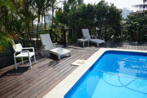 The swimming pool at or near Villa with Views & Pool