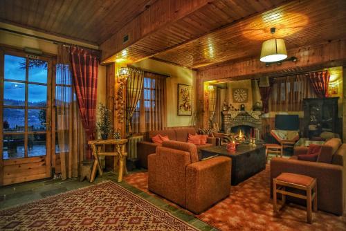 Ο χώρος του λόμπι ή της ρεσεψιόν στο Guesthouse Alexandra