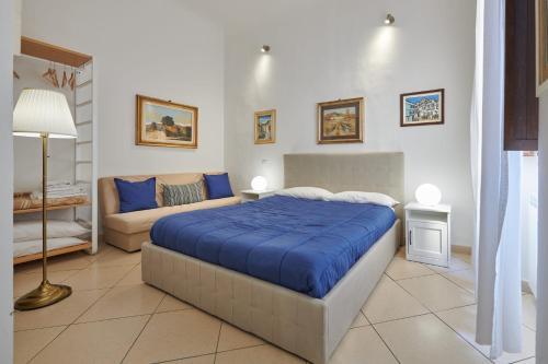 Cama o camas de una habitación en Florence&Us Santa Croce