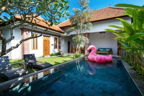 The swimming pool at or close to Bijia Villa 3BR w Private Pool - Peaceful Quiet Luxury Villa - Near Monkey Forest