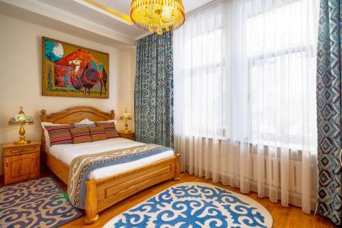 Navat Hotelにあるベッド