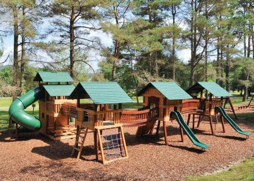 Children's play area at Landal Kielder Waterside