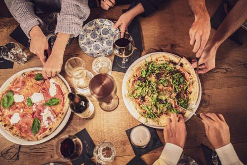 Lunch and/or dinner options for guests at Kurhaus Lenzerheide