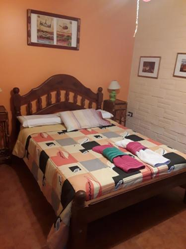 A bed or beds in a room at La Tranquera Alquiler Temporario