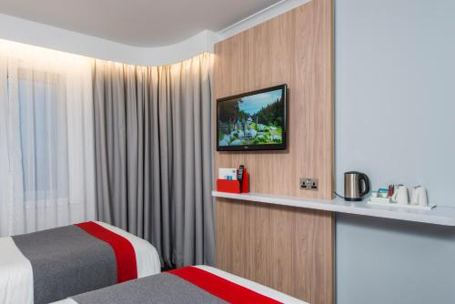 Letto o letti in una camera di Holiday Inn Express London Greenwich