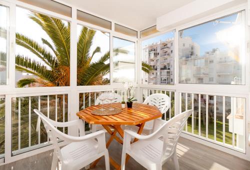 A balcony or terrace at Coronado Parador Nerja Canovas