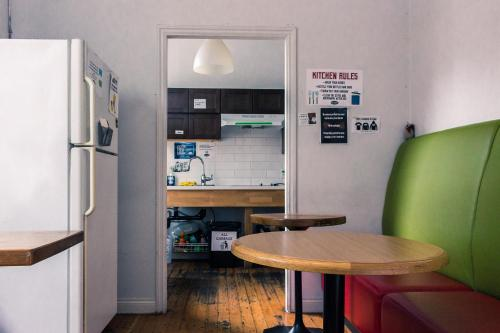 A kitchen or kitchenette at The Cambie Hostel Seymour