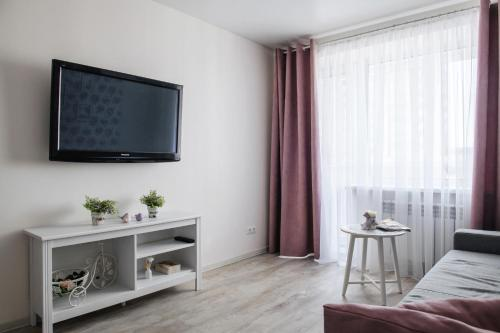 A television and/or entertainment center at Provence house