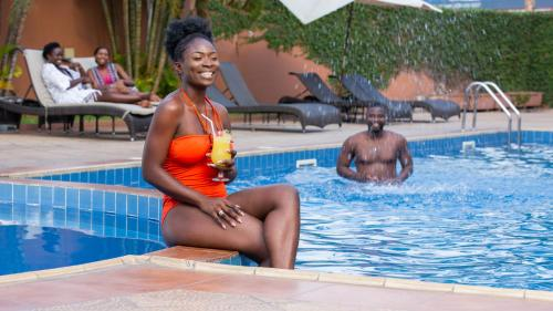The swimming pool at or near African Regent Hotel