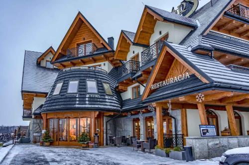 Obiekt Górski zimą
