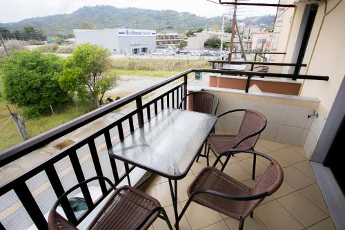 Balkon ili terasa u objektu Malamatenia House