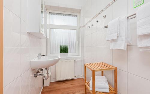 A bathroom at Hotel Rutherbach
