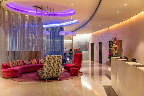The lobby or reception area at The Park New Delhi
