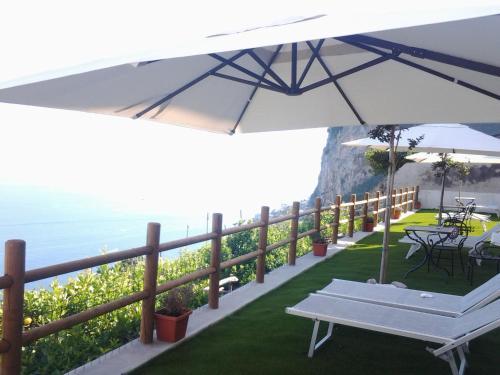 Balcone o terrazza di Villa Amalfi
