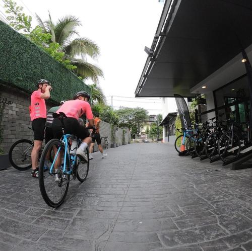 Cycling at or in the surroundings of Vanilla Residence Chiangmai
