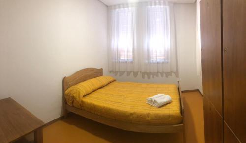 Cama o camas de una habitación en Ecoalbergue La Mola