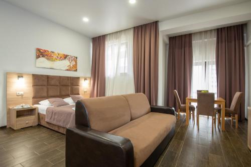 Гостиная зона в Отель «Пеликан»
