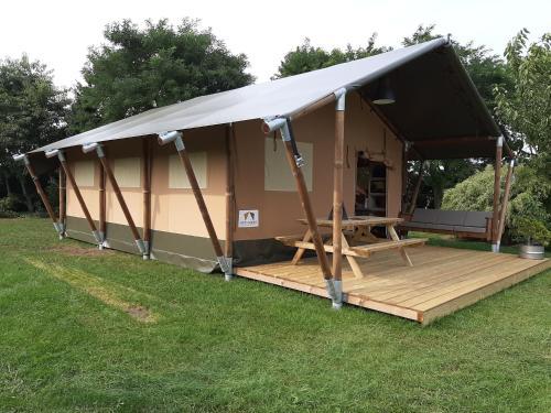 DOOK Pop Up Tent 4 Persoon, Beach Tent Sun Shelter voor Baby