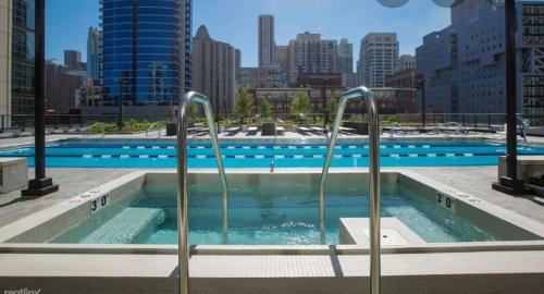 The swimming pool at or near Best view, location and coziness in River North!