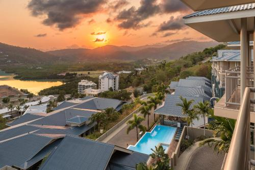 A view of the pool at Club Wyndham Airlie Beach or nearby