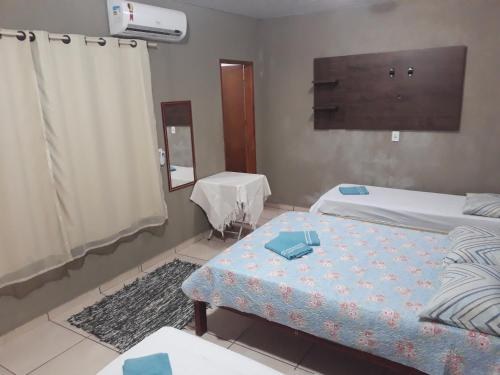 A bed or beds in a room at Casa Bonito Centro