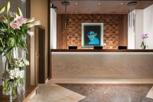 Hall ou réception de l'établissement Jalta Boutique Hotel
