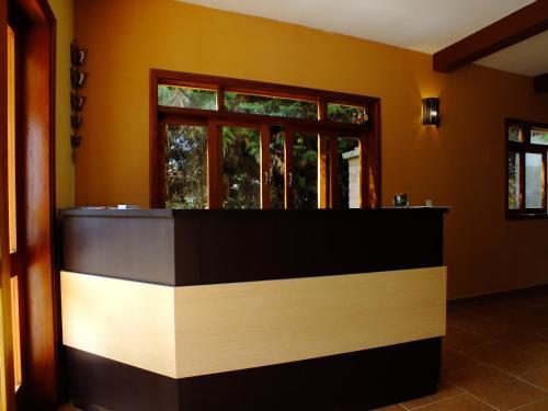 O saguão ou recepção de Pousada Vista da Serra Monte Verde