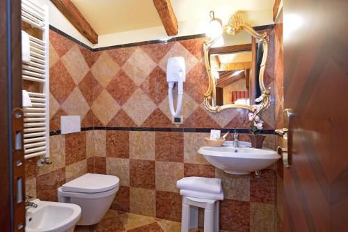 Um banheiro em Antico Panada