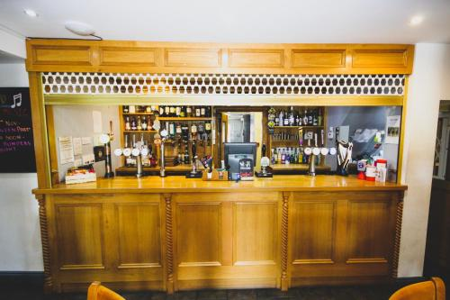 The lounge or bar area at The Kings Arms