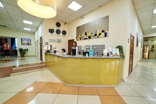The lobby or reception area at Hotel Art-Ulyanovsk