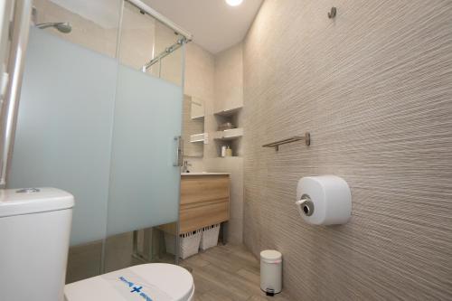 Un baño de Hostal Casa Mercedes