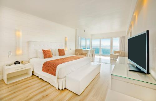 Кровать или кровати в номере Rio Othon Palace