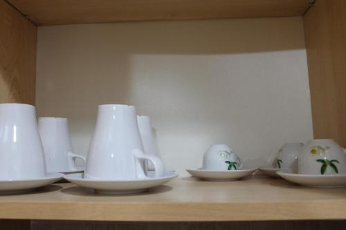 Coffee and tea-making facilities at Residence Sol Levante