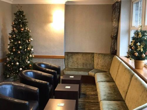 A seating area at Patterdale Hotel