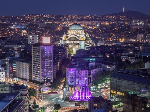 منظر فندق سلافييا من الأعلى