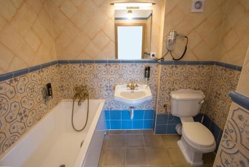 A bathroom at Penzion statek Bernard