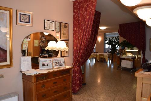 Lobby eller resepsjon på Hotel Pilotto