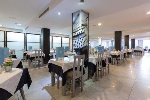 Een restaurant of ander eetgelegenheid bij Nautic Hotel & Spa