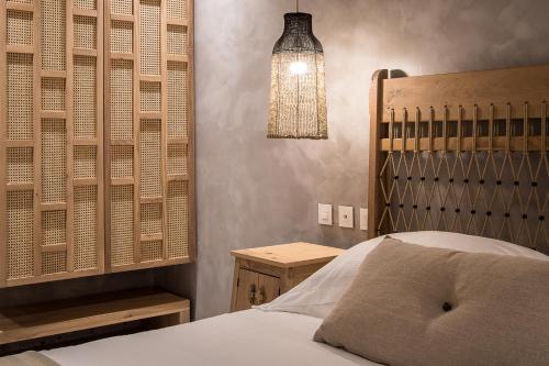Кровать или кровати в номере Grecian Bay