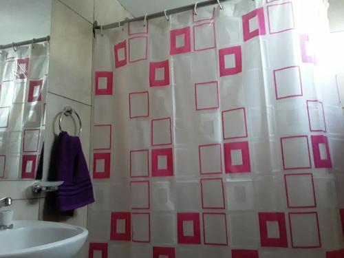 A bathroom at Paseo las Vinas