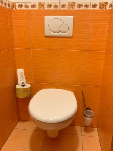 A bathroom at Penzion u Machů