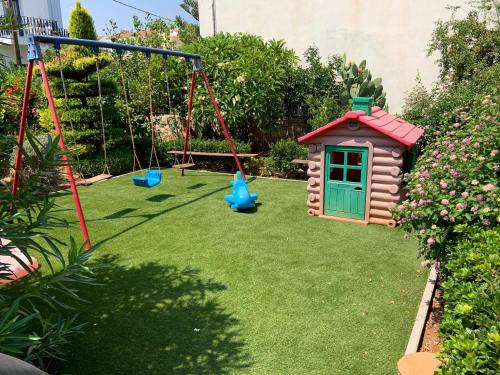 Children's play area at Evdokia Suites