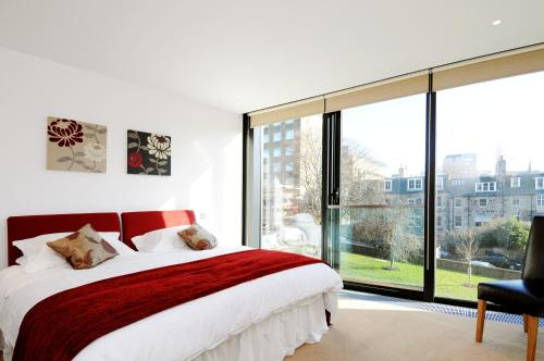 273 Stylish 2 bedroom apartment in the Quartermile development - offers private parking