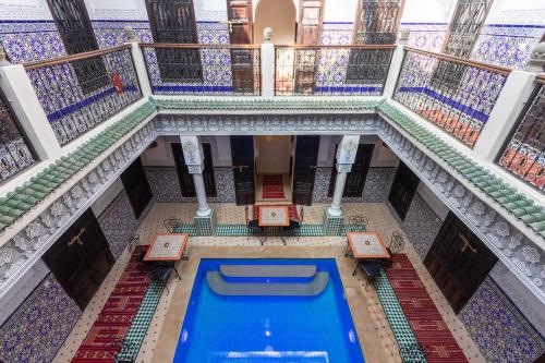 The swimming pool at or close to Riad Medina Art