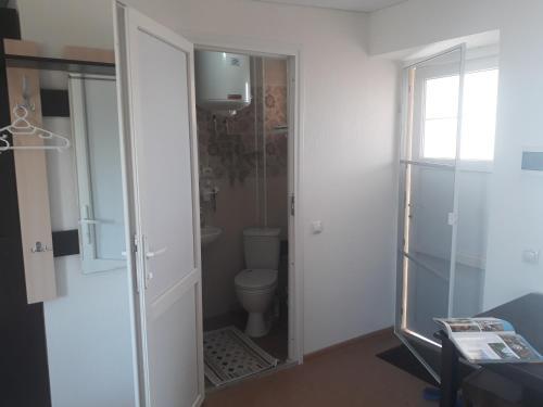 Ванная комната в Гостевой дом Коса Южная