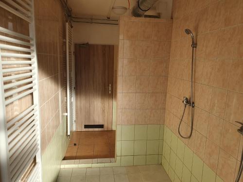 A bathroom at Ubytovna Koky