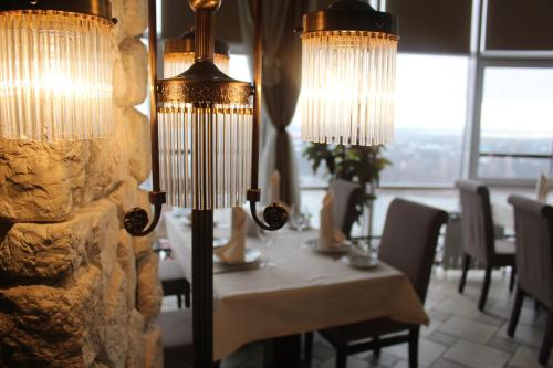 A restaurant or other place to eat at Don Kihot Hotel Rostov-on-Don