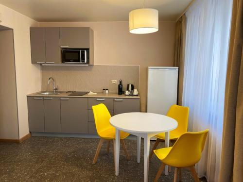 Кухня или мини-кухня в Апарт-отель Аэлита