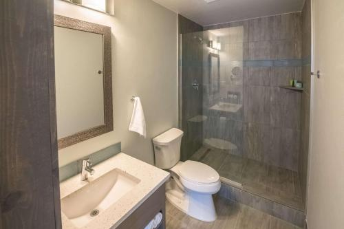 A bathroom at 816 Hotel Westport Country Club Plaza, Ascend Hotel Collection